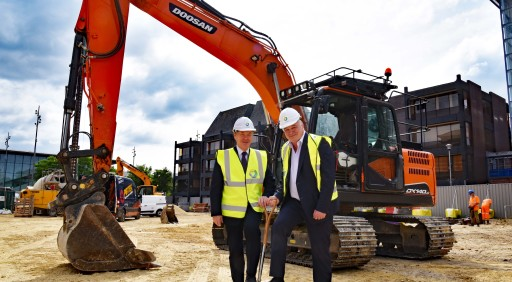 Ashall Projects Breaks Ground on Landmark Centre Square Project in Middlesbrough